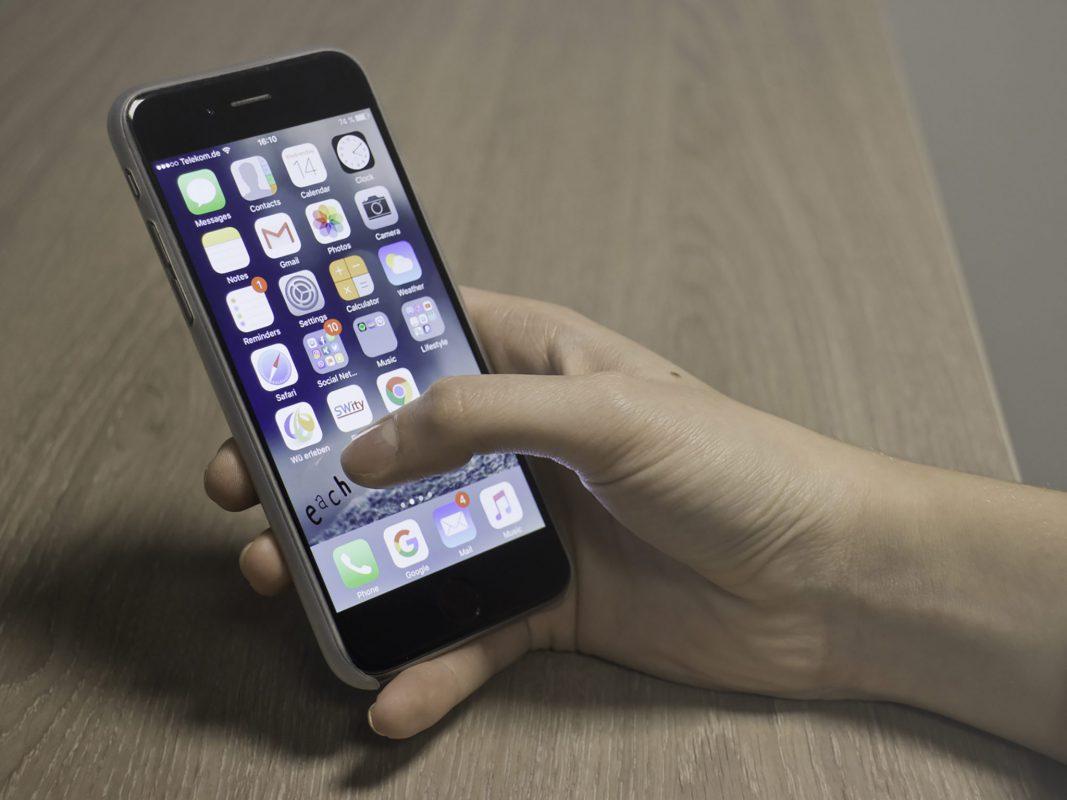 Symbolbild Smartphone. Foto: Marcel Gollin
