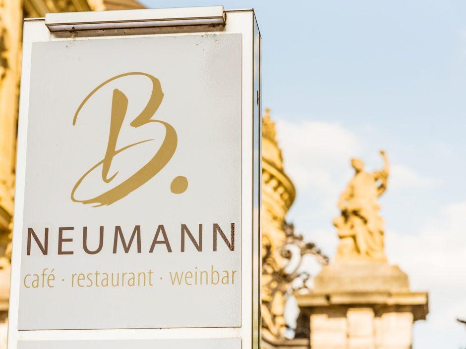 Die B. Neumann Residenzgaststätte mit gemütlichem Biergarten. Foto: Pascal Höfig.