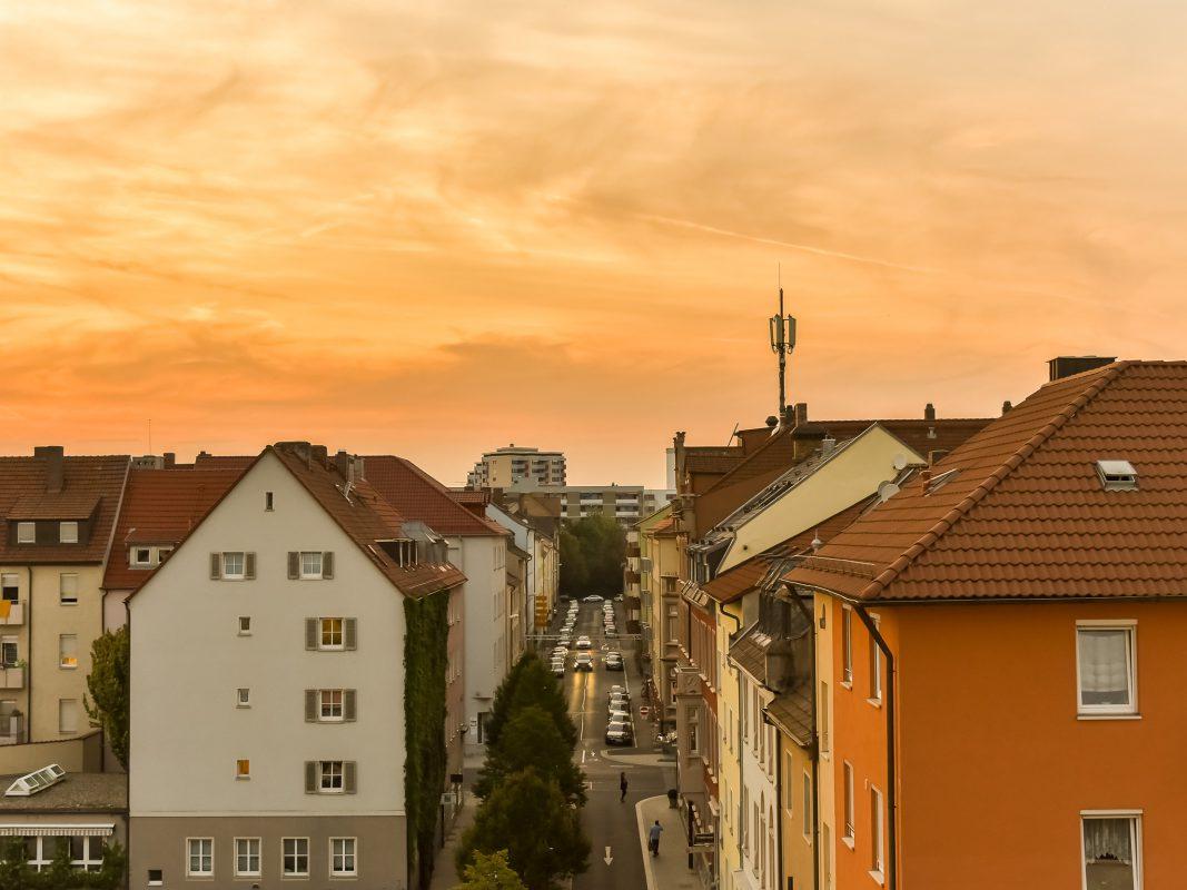 Goldener Herbst in Schweinfurt. Foto: Pascal Höfig