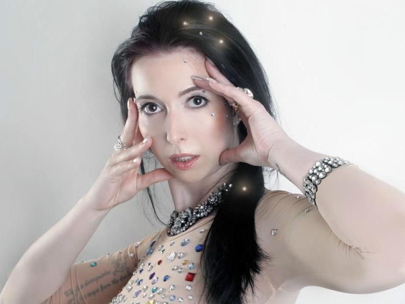 Hobby-Model Diana aus Schweinfurt. Foto: Anna Heinzelmann