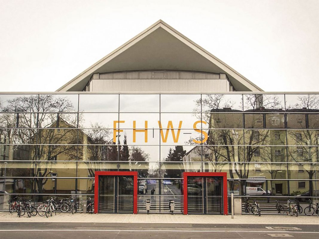 FHWS Fachhochschule in Schweinfurt. Foto: Dominik Ziegler