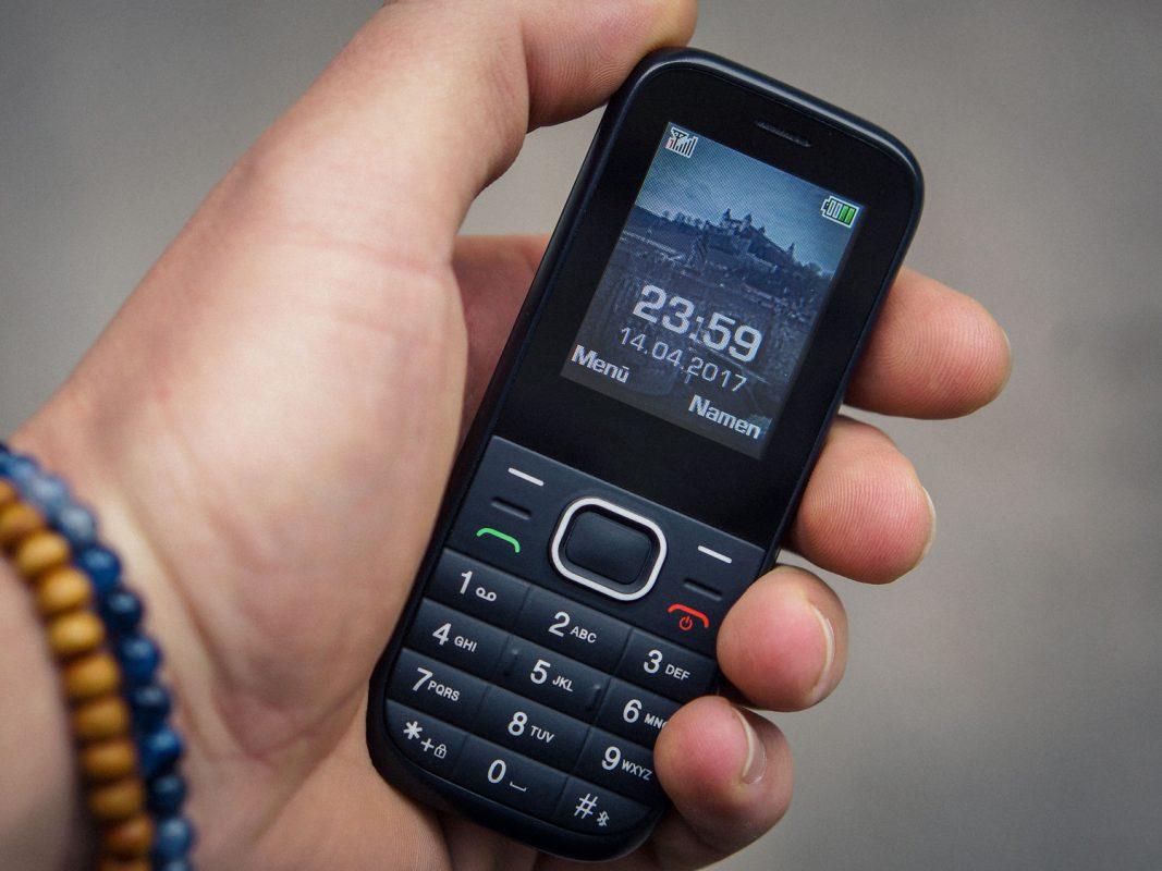 Mit Fastenhandy zum Smartphone-Entzug. Foto: Dominik Ziegler