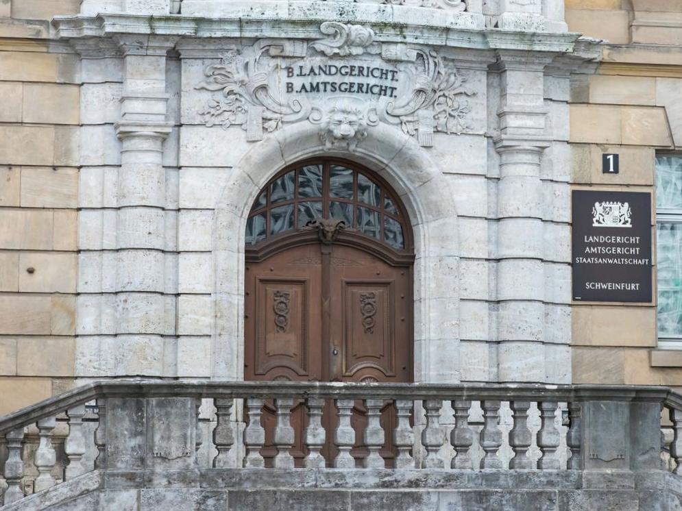 Landgericht, Amtsgericht, Staatsanwaltschaft Schweinfurt – Foto: Pascal Höfig