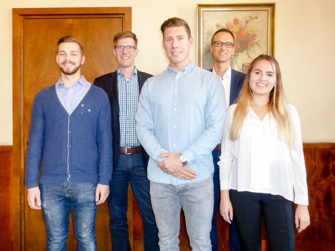 """Die Gewinner der Aktion """"Volksfest-Gesicht 2018"""". Foto: Daggi Binder, maizucker"""