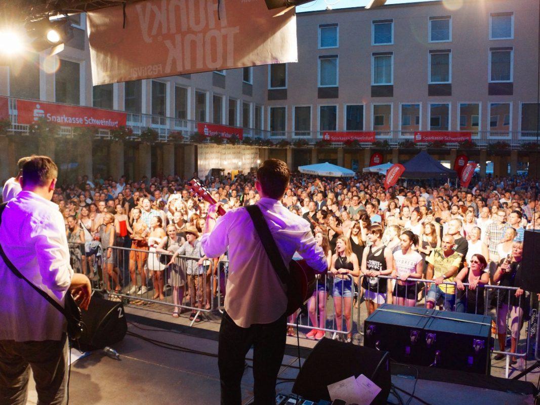 Honky Tonk Festival in Schweinfurt. Foto: Blues Agency Schweinfurt