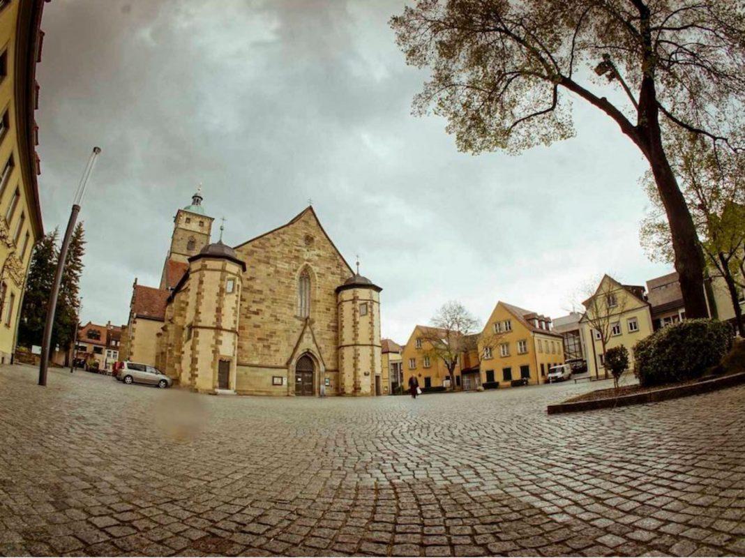 Die Schweinfurter Johanniskirche. Foto: Dominik Ziegler