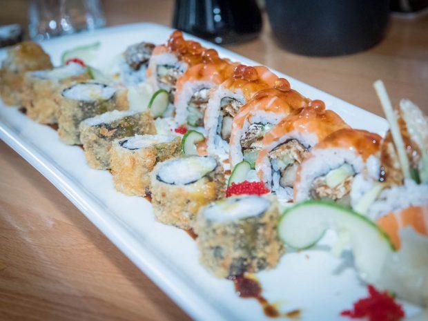 Sushi bis zum Umfallen. Foto: Pascal Höfig