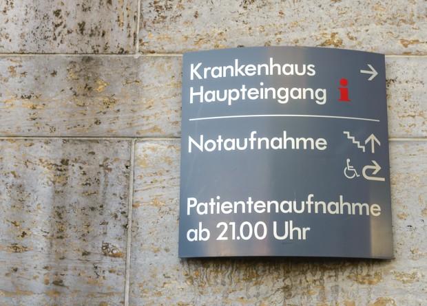 Notaufnahme im Krankenhaus. Foto: Pascal Höfig