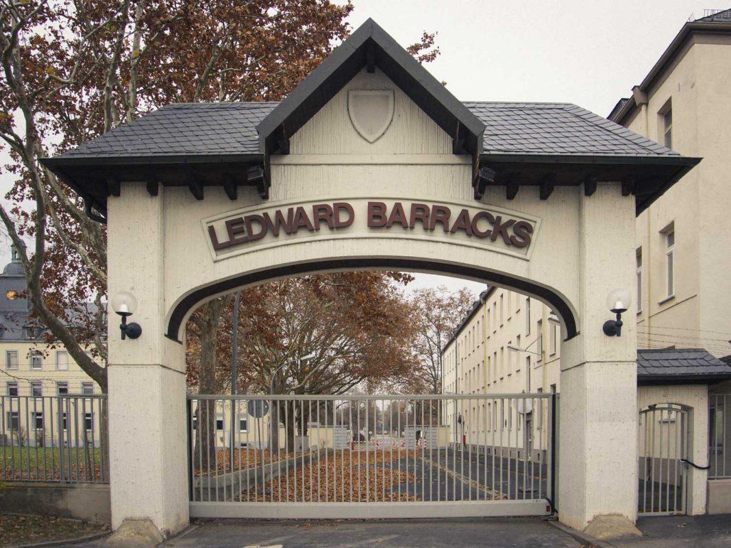 Ledward Barracks – Foto: Dominik Ziegler