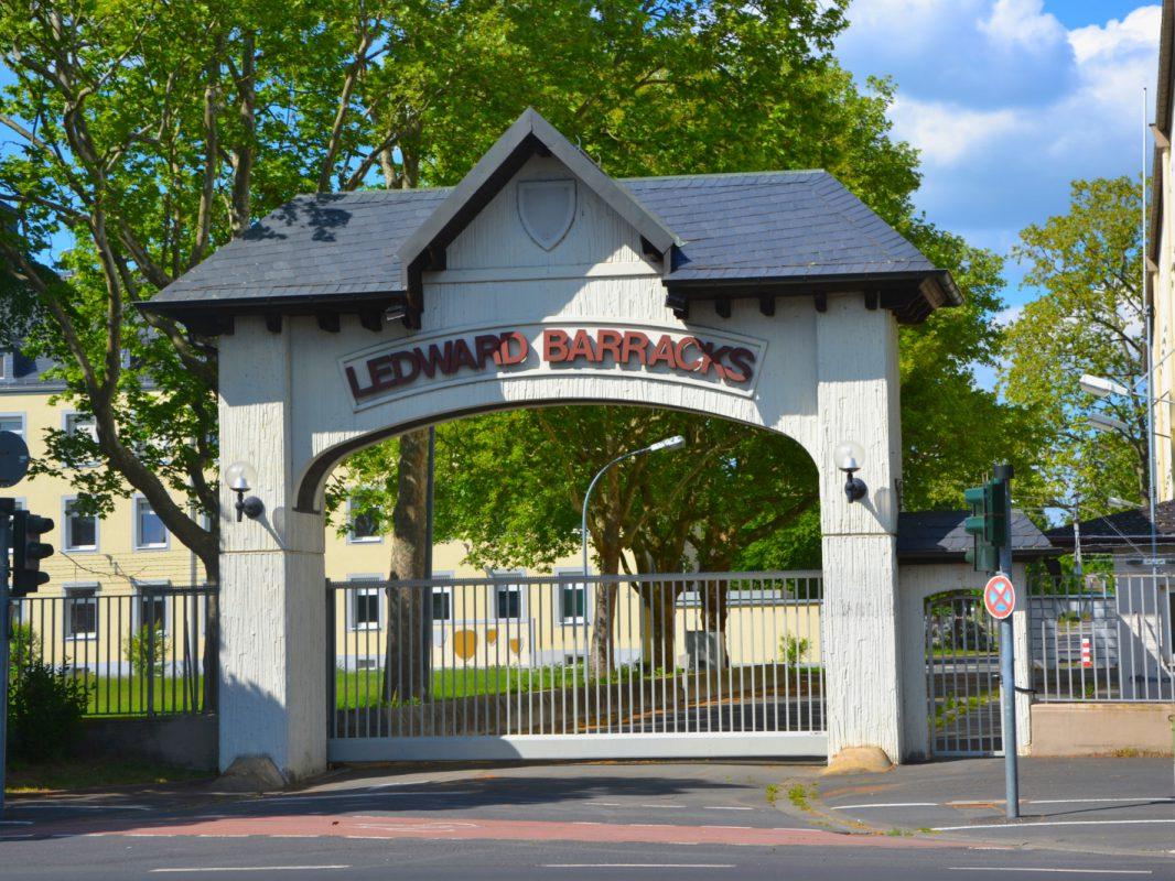 Ledward Barracks in Schweinfurt. Foto: SWity