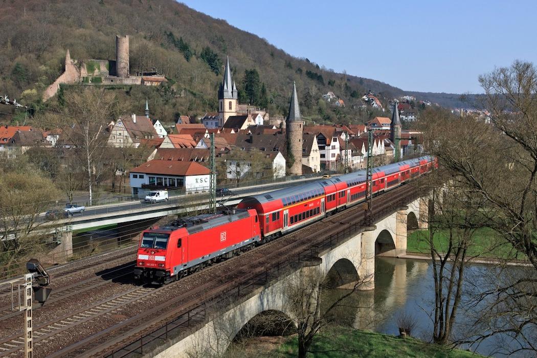 Der Main-Spessart-Express. Foto: DB Regio
