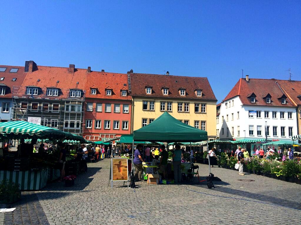 Der Schweinfurter Marktplatz. Foto: SWity