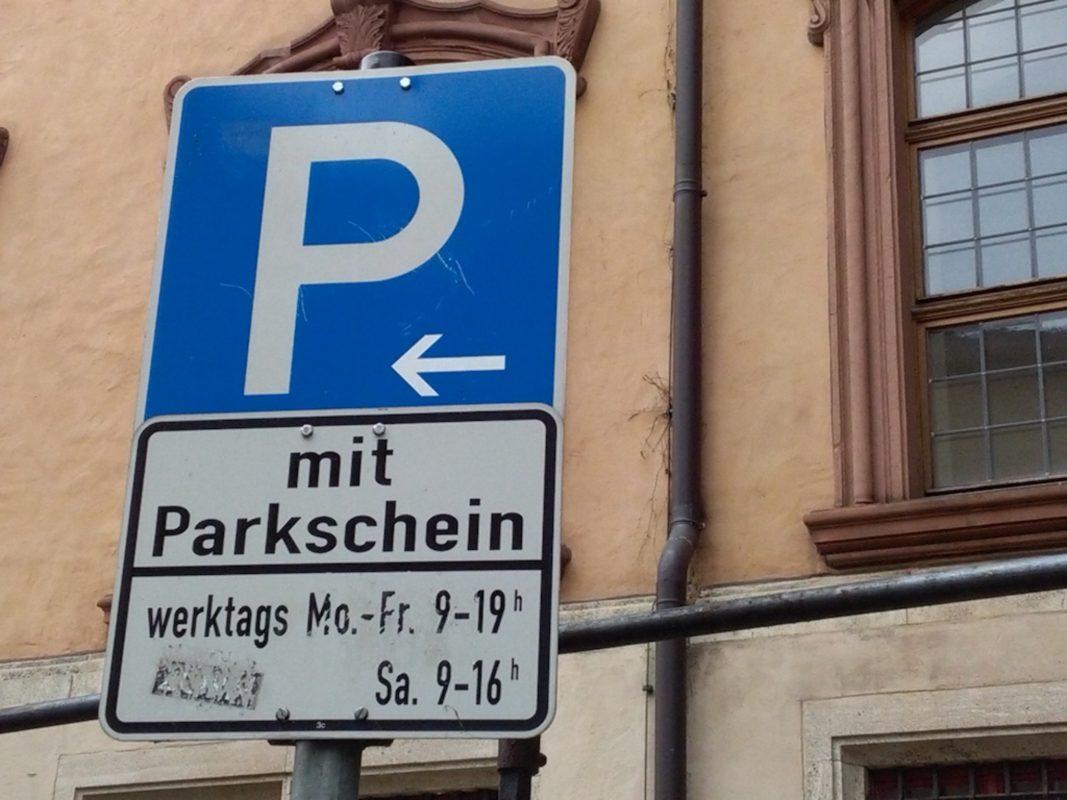 Symbolbild Parkplatz. Foto: Jessica Wille