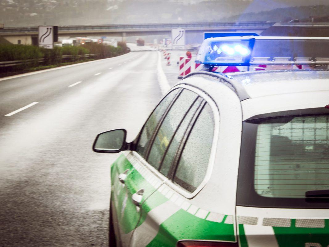 Autobahnpolizei. Foto: Pascal Höfig