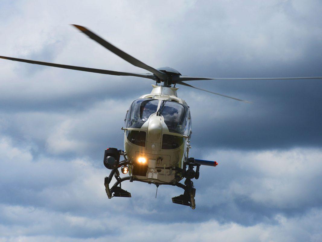 Edelweiß ist einer von 8 Helikoptern der Polizeihubschrauberstaffel der Bayerischen Bereitschaftspolizei. Foto: Polizei Bayern