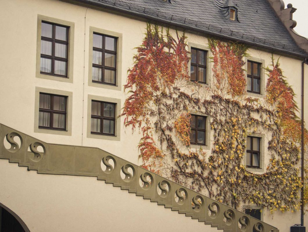 Rathaus-Innenhof in Schweinfurt – Foto: Dominik Ziegler