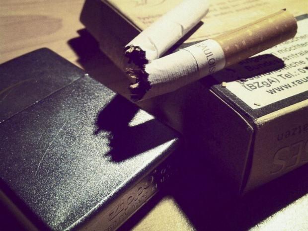 Symbolbild Rauchen: Dominik Ziegler