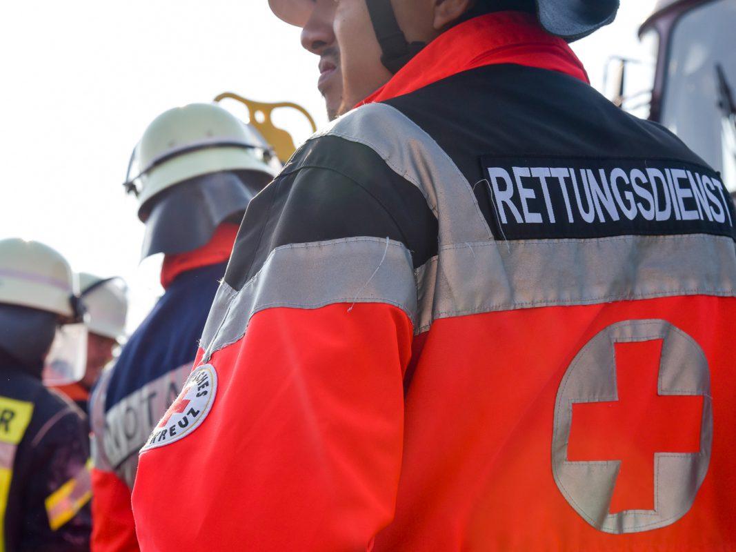 Rettungsdienst im Einsatz - Foto: Pascal Höfig
