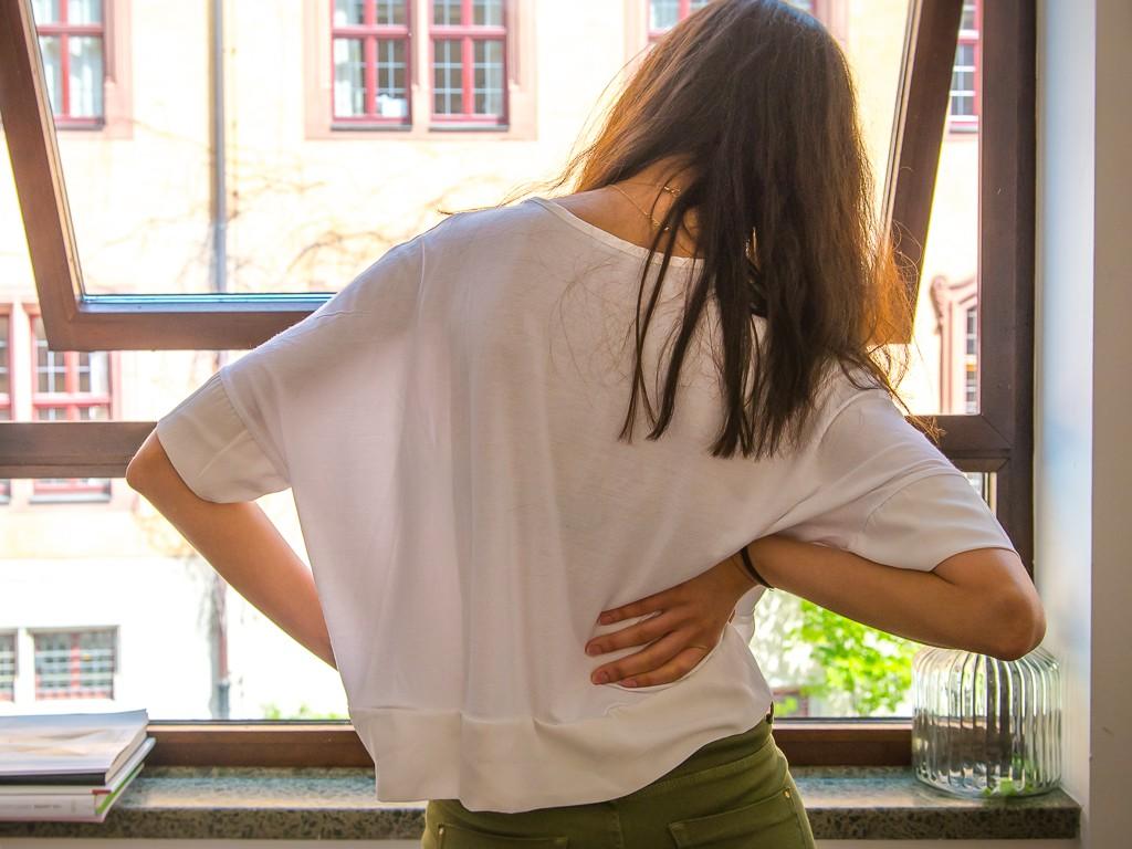 Rückenschmerzen sind in Deutschland die Volkskrankheit Nummer 1. Foto: Pascal Höfig