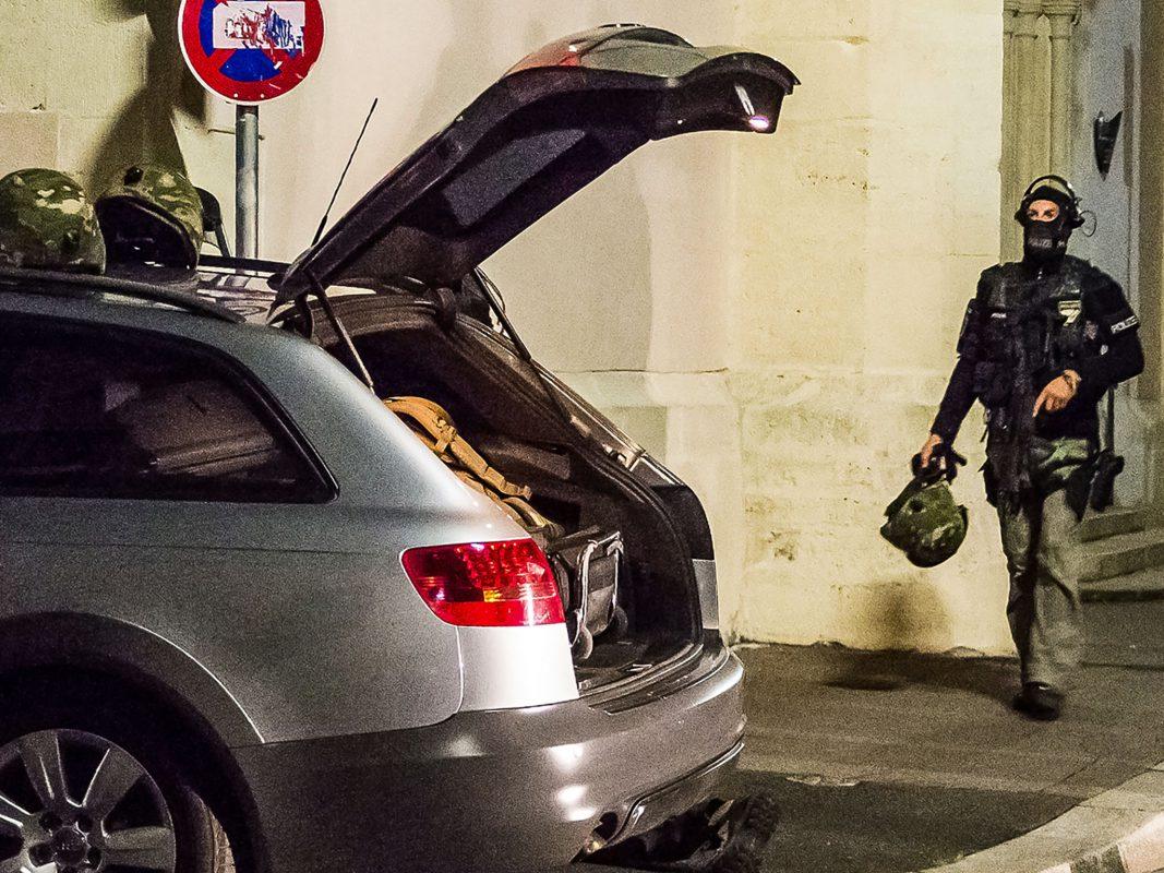 Beamte des SEK bei einem Einsatz - Foto: Pascal Höfig