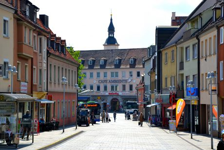 Die Schweinfurter Innenstadt. Foto: SWity