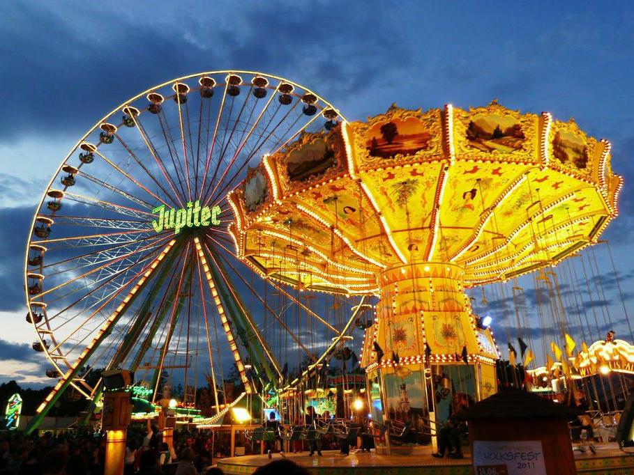 Schweinfurter Volksfest. - Foto: Stadt Schweinfurt