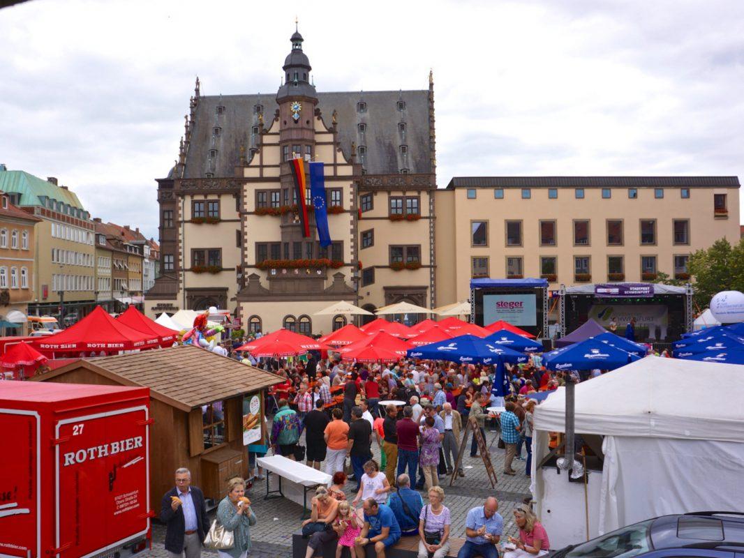Stadtfest Schweinfurt. Foto: Archiv Blues Agency