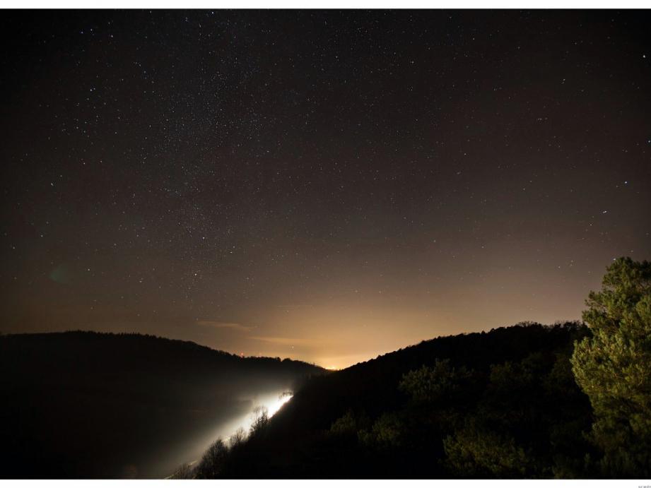 Nachthimmel. Foto: Rainer Maiores