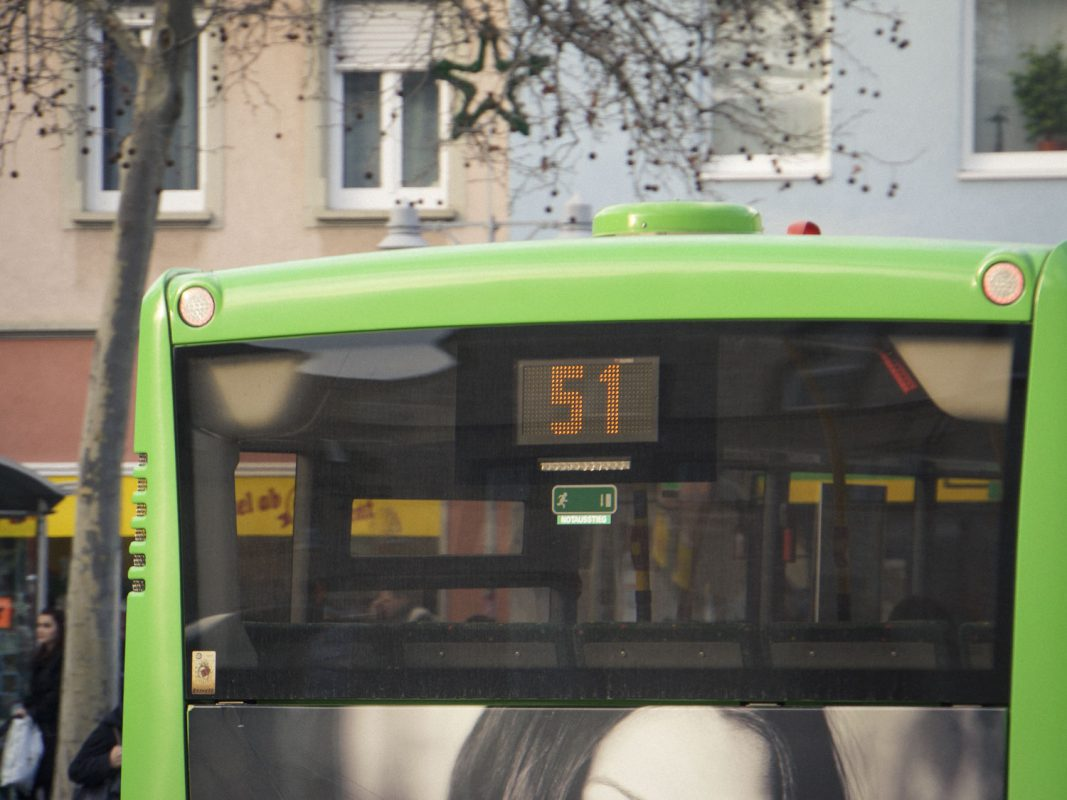 Symbolbild Nahverkehr in Schweinfurt. Foto: Dominik Ziegler