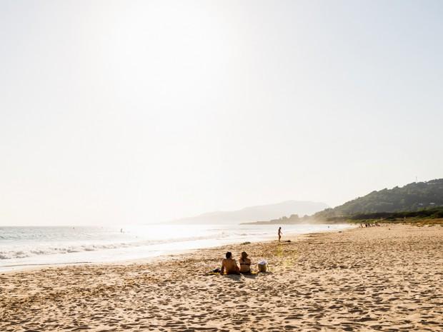 Urlaub am Strand. Symbolbild: Pascal Höfig