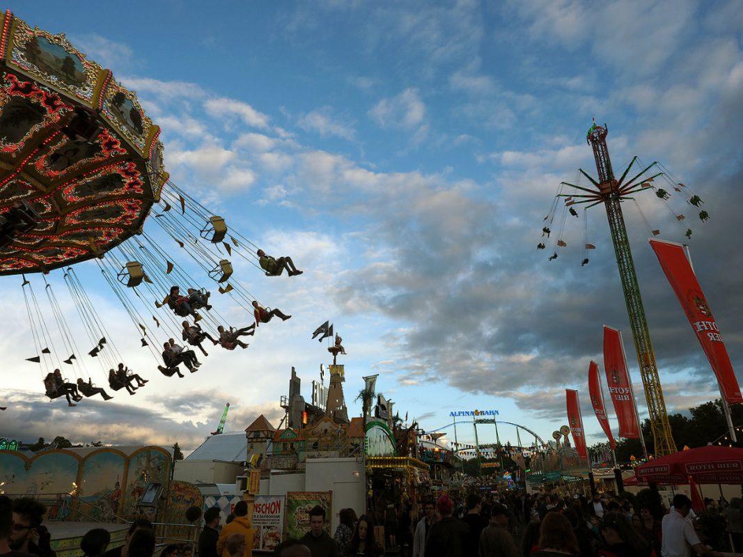Das Schweinfurter Volksfest 2016. - Foto: Harald Reuther