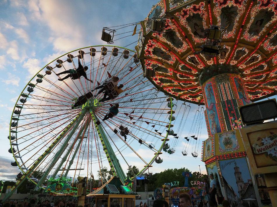 Schweinfurter Volksfest 2016 - Foto: Harald Reuther