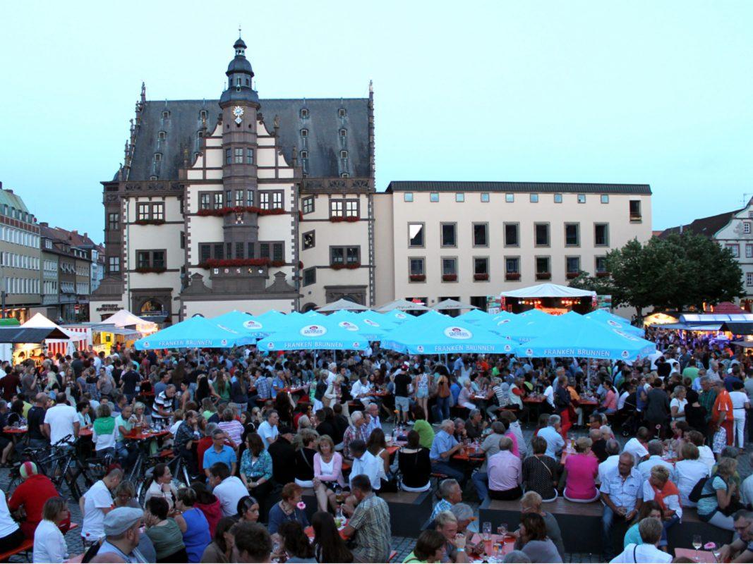 In diesem Jahr findet das 5. Schweinfurter Weinfest statt. Foto: Zametzer&Krohn GbR
