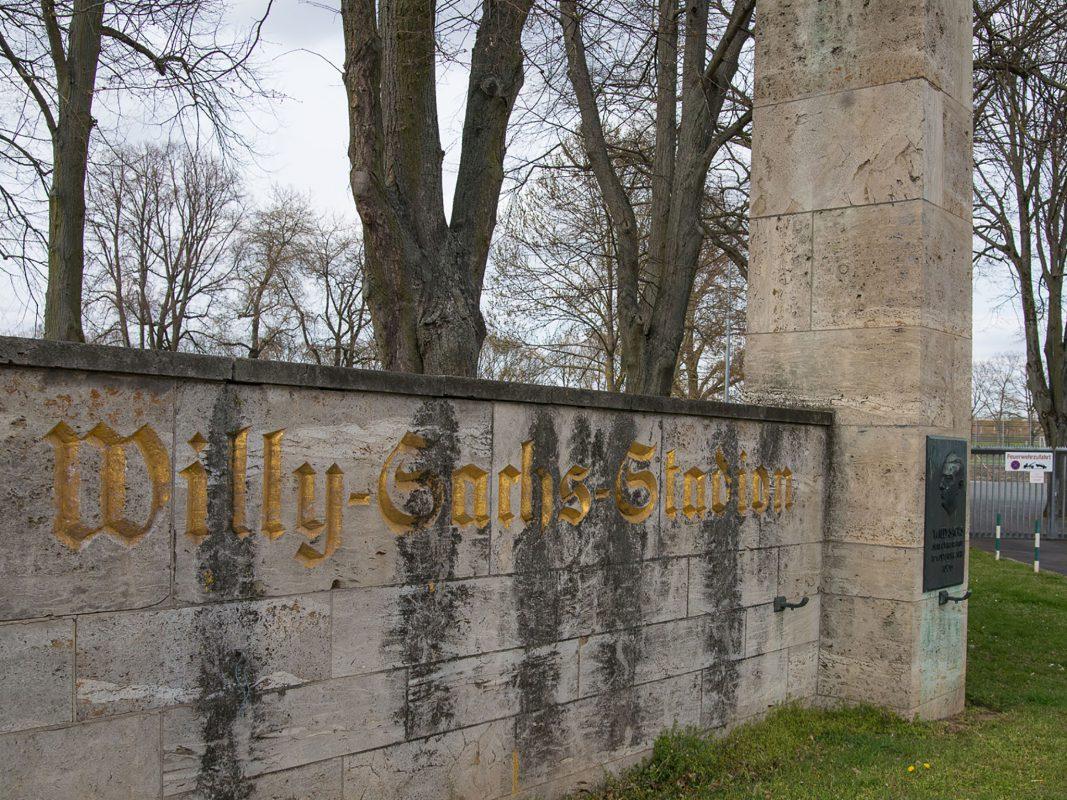 Das Willy-Sachs-Stadion in Schweinfurt. Foto: Pascal Höfig