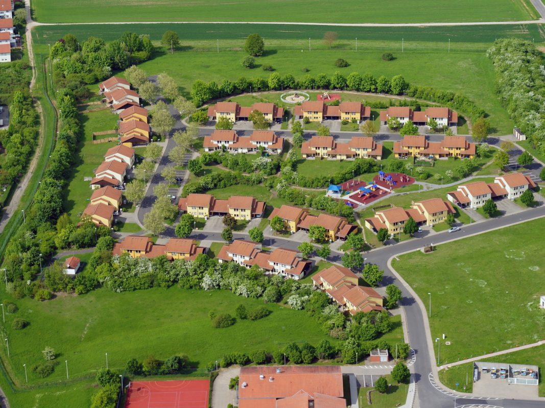 Luftaufnahme von Yorktown Village. Foto: Luftbild Müller