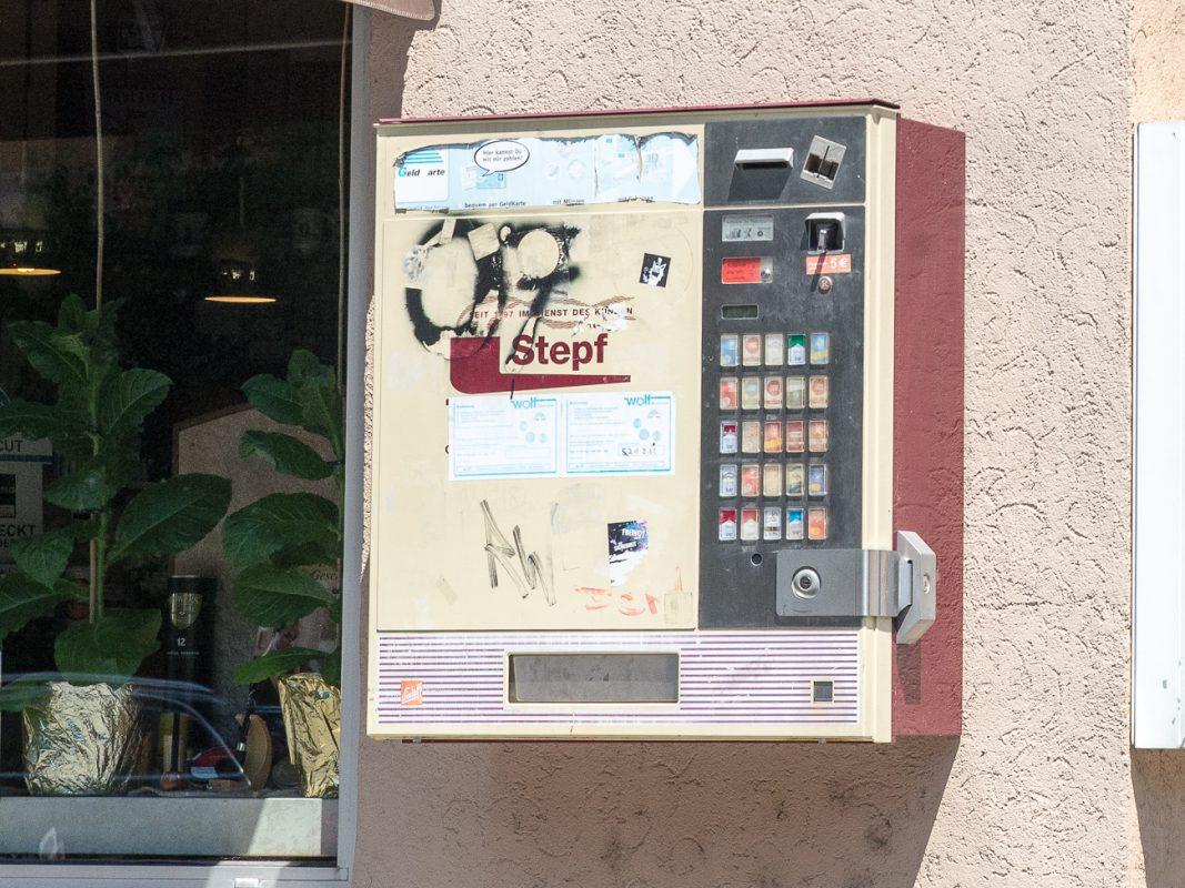 Zigarettenautomat – Foto: Pascal Höfig