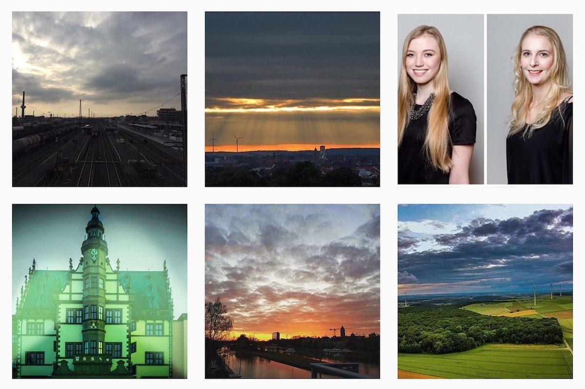 Schweinfurt auf Instagram. Screenshot: www.instagram.com/swity.de
