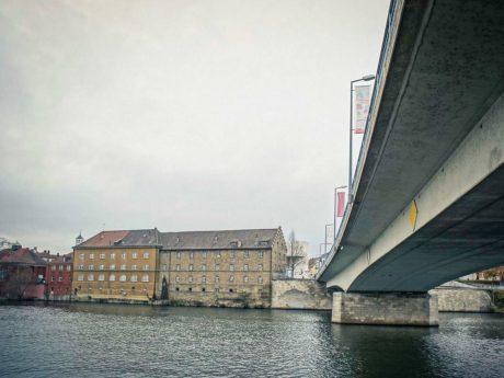 Maxbrücke in Schweinfurt. Foto: Dominik Ziegler