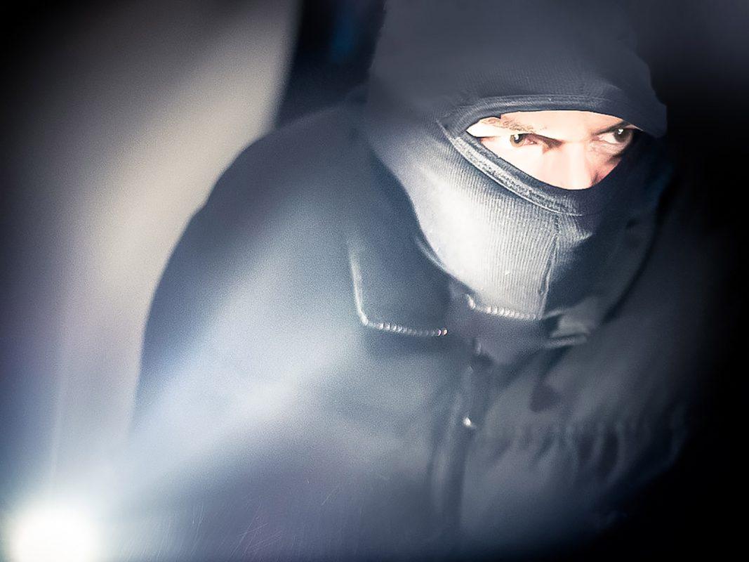 Einbrecher am Werk: Symbolfoto: Pascal Höfig