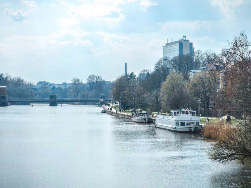 Der Main in Schweinfurt – Foto: SWity
