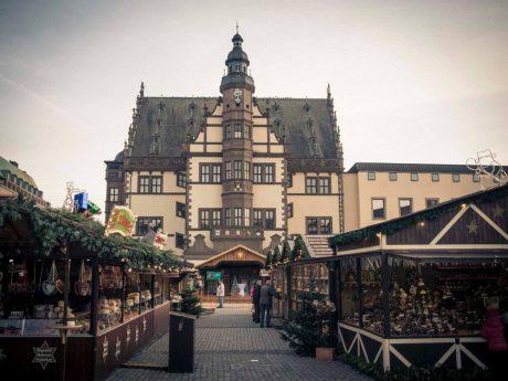 Weihnachtsmarkt in Schweinfurt. Foto: Dominik Ziegler