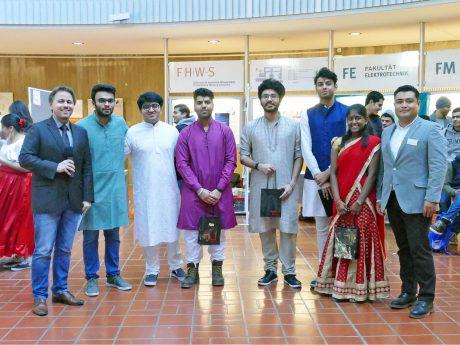Sieger in der Kategorie beste Gerichte: Indien. Foto: FHWS, Klein