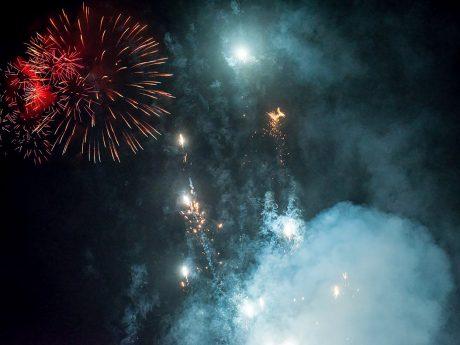 Feuerwerk. Foto: Pascal Höfig