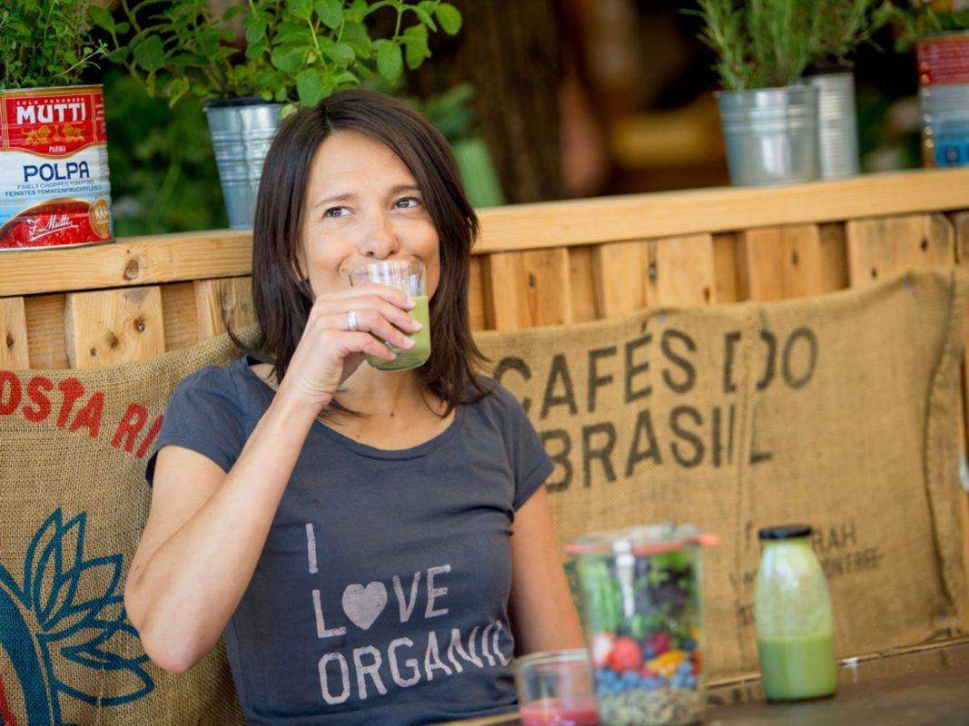 Merle Zirk ist von ihrer veganen Lebensweise überzeugt. Foto: Susanne Krauss