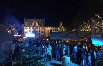 Schweinfurter Winterdorf. Foto: GenussStadtSchweinfurt e. V.