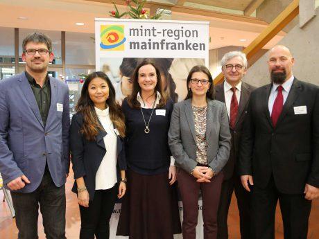 Gemeinsam für mehr (digitale) MINT-Bildung. Foto: Rudi Merkl, Region Mainfranken GmbH