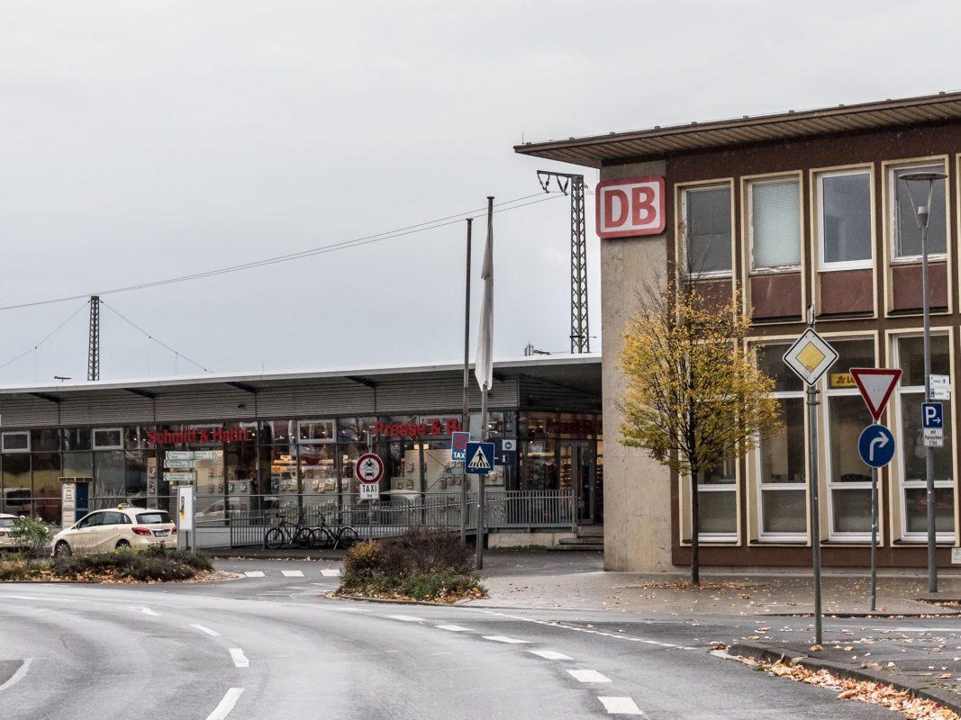 Der Schweinfurter Bahnhof. Foto: Pascal Höfig