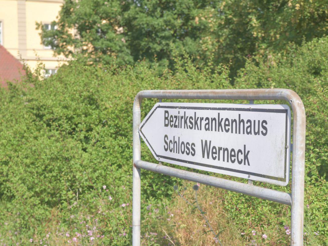 Das Bezirkskrankenhaus Schloss Werneck. Foto: Pascal Höfig
