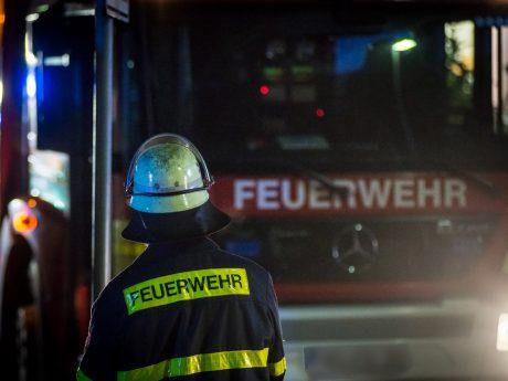 Feuerwehr im Einsatz. Foto: Pascal Höfig