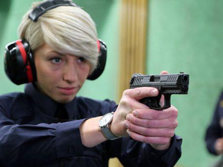 Die neue Dienstpistole für die Bayerische Polizei. Foto: Bayerns Polizei